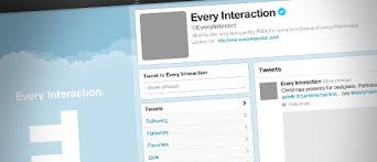 twitter profile page template for photoshop