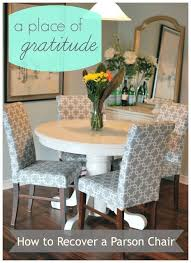 reupholster a dining room chair reupholstering parsons chairs dining room pinterest