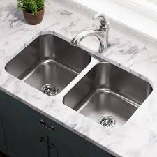 502a 16 undermount equal bowl stainless steel kitchen
