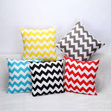 Outdoor Furniture Cushions Covers by Sofa Cushion Covers Water Wave 45 45cm Cotton Square Cushions