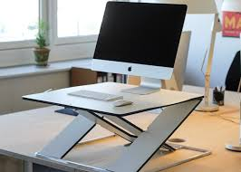 Mac Computer Desk Oploft Is The Nordic Mac Friendly Standing Desk Solution You May