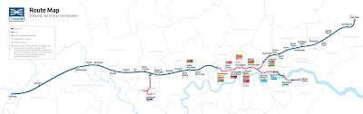Southwest Route Map Maps Crossrail