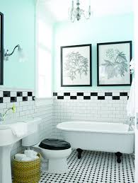 Bathroom Makeovers Ideas - bathroom makeover ideas black and white tile in decorating