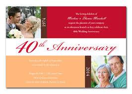 40th anniversary invitations 40th anniversary blocks anniversary invitations by invitation