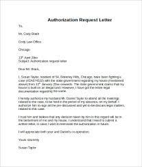 sample letter of authorization form authority letter