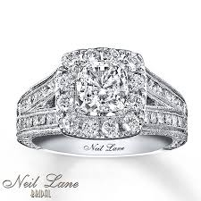 neil engagement kayoutlet neil engagement ring 2 ct tw diamonds 14k white gold