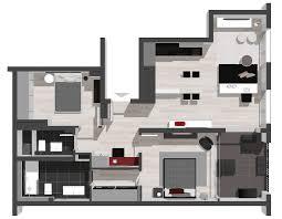 3d Floor Plan 3d Apartment Visualisation