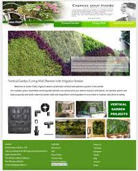 Garden Wall Systems by Green Field Vertical Garden Living Wall With Drip Irrigation