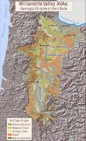 Map Of Hillsboro Oregon by Oregon Wine Viticulture U2013 Young Vino
