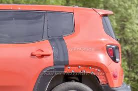 2017 jeep patriot 2017 jeep patriot mule spied testing with renegade body