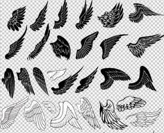 various types of creative wing designs free my