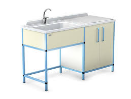 Changing Table With Sink Changing Table L Shaped With Sink Oskar Series Techmed Sp
