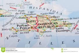 Haiti Map Haiti And Dominican Republic Map Stock Photo Image 14823302