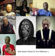 aliexpress com buy new make old cosplay delicated jason voorhees