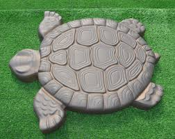 turtle stepping mold concrete cement mould abs tortoise for