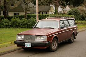 volvo wagon old parked cars volvo we barely knew thee tony u0027s 1986 245