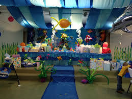 Baby Shower Centerpieces For A Boy by Under The Sea Baby Shower Decorations Sara U0027s Baby Shower