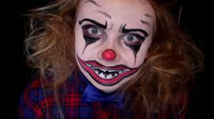 Halloween Makeup Clown by Scary Killer Clown Halloween Makeup Tutorial Youtube