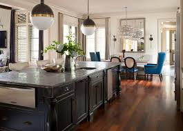 black distressed kitchen island distressed kitchen island eclectic kitchen garrett