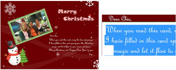 photo insert christmas cards easy to use christmas card maker and editor