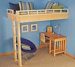 Free Building Plans For Loft Beds by Free Loft Bed Plans Woodworking Plans And Information At