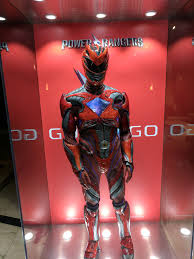 red power rangers suit revealed ces ultimate comicon