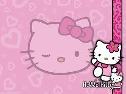 hello kitty birthday card wallpaper