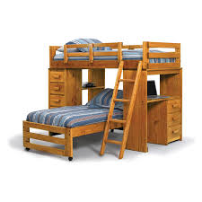 Bunk Bed With Desk Walmart Bedroom Loft Bed With Desk And Storage High Sleeper Study Bunk