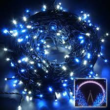 and white christmas lights blue and white christmas lights led wire outdoor comexchange info