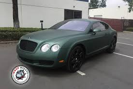 matte red bentley matte wrap wrap bullys