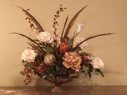 Faux Floral Centerpieces by 30 Best Silk Flower Arrangements Images On Pinterest Flower