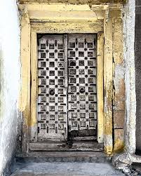 Rajasthani Home Design Plans by These Exquisite Antique Rajasthani Doors Come In All Hues Of The