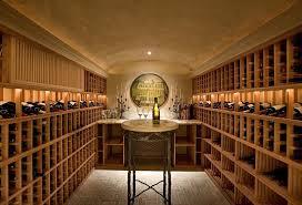Wine Cellar Edmonton - recessed lighting layout wine cellar mediterranean with