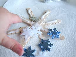 popsicle stick snowflakes no time for flash cards