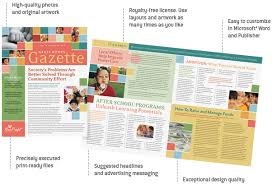 10 best images of microsoft office publisher newsletter templates