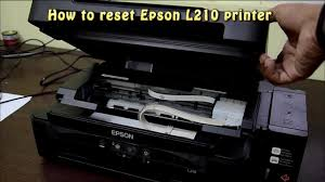 printer epson l210 minta reset reset epson l210 waste ink pad counter youtube