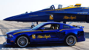 the with the blue mustang u s air thunderbirds edition 2014 ford mustang gt see