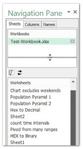 how to show multiple rows of worksheet tabs in excel
