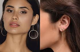 mismatched earrings trend how to actually wear the mismatched earrings trend flare