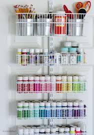 over the door organizer love this over the door craft storage idea penelopes get crafty