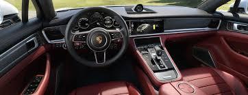 porsche panamera interior back seat extensive customisation options the new porsche panamera sport