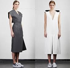 Minimalist Designer Edeline Lee 2014 2015 Fall Winter Womens Denim Jeans Fashion