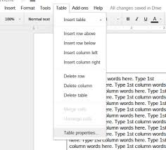 how to create a column layout in google docs chromecrunch