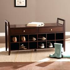 entryway bench with baskets and cushions bench wood entryway bench foyer entry way furniture small