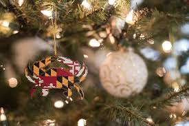 maryland crab brass ornament