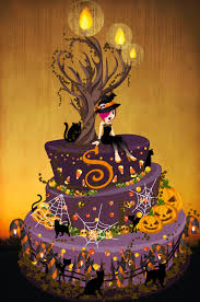 halloween cakes halloween birthday cake by luvlemontea on