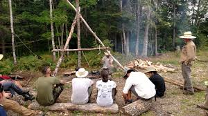 Bush Craft For Kids A Family Bushcraft Experience In Northern Maine