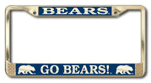 uc berkeley alumni license plate uc berkeley license plate frames cal bears automotive gear