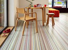 vinyl flooring design and maintenance gras striped vinyl