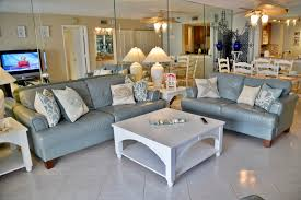 Beach Living Room by Beach Condo Vacation Rentals Indian Shores Florida Sand Castle